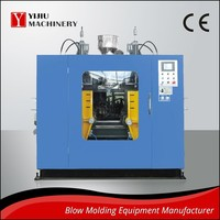 PE PP PVC ABS TPE TPU PE Automatic Blow Molding Machine With Deflashing