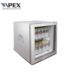 Factory Sales Directly Hotel Bar Cabinet Mini Display Fridge with Hot Gas Evaporated Drip Tray