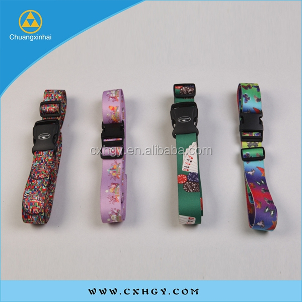 custom sublimation printing polyester sports belt