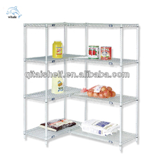 NSF&ISO Certificated Coldroom storage Chrome Wire Shelving Rack