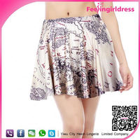 Cheap Digital Printed Pictures Of Women In Short Skirt