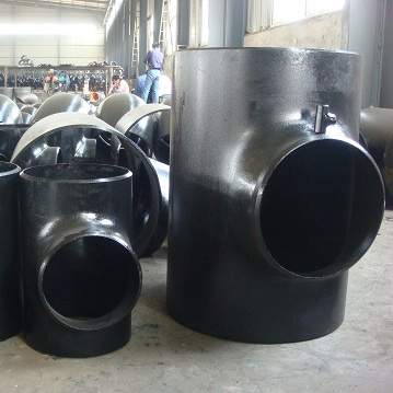 Carbon Steel Bw Pipe Fitting Sch40 Smls Equal Tee