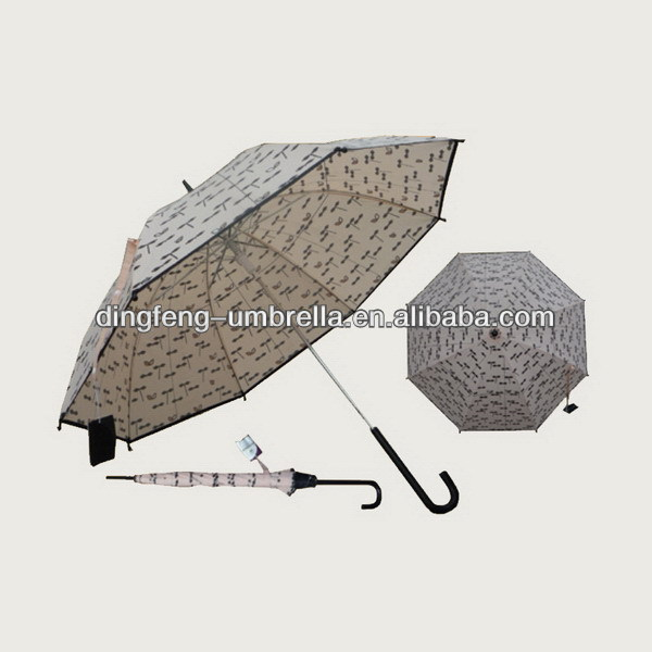High quality trendy mtn promotional golf umbrella