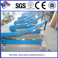 high quality blade and machine manual hand guillotine shearing machine