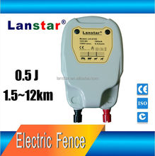 Lanstar newest products of solar electric fence energizer for dogs