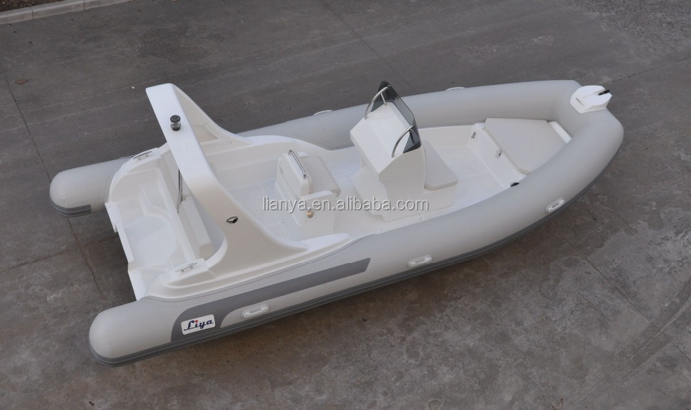 Liya hypalon tube inflatable 6.2m recreational boats sport fishing boat