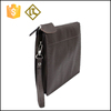 Men wholesale genuine leather man travel clutch bag for man