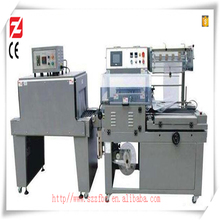L type vertical automatic bottleand pipe heat shrink wrapping machine for sealing and packaging