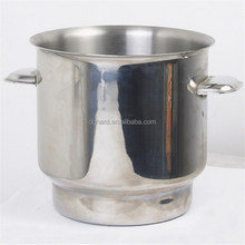 Hot sale single wall stainless steel ice bucket