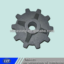 Chain wheel casting used for transmission