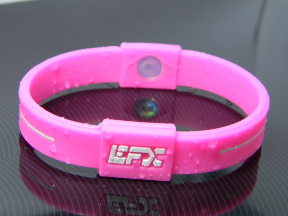 Customized Silicone Power Bracelet