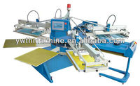 SPE Series Multifunctional Automatic Rotary Textile Screen Printer
