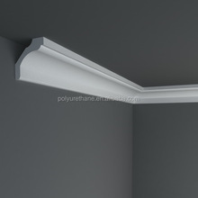 High quality polyurethane moulding HDC079 wall trim indirect lighting led cable coving cornice