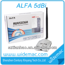 Alfa High Power Wifi Adapter Realtek 8187L 54Mbps WITH USB