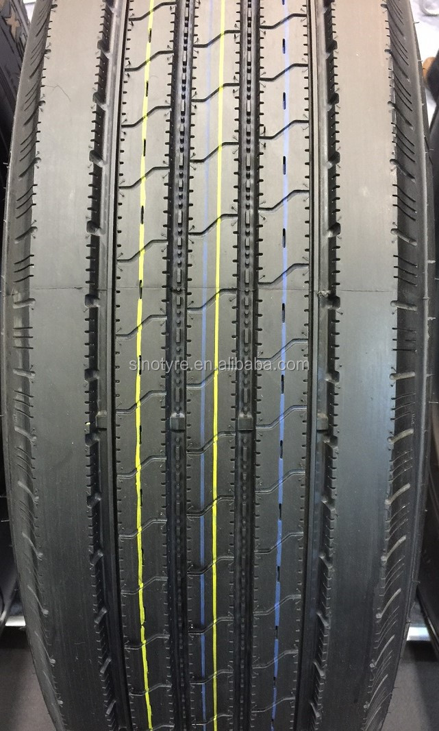 2016 new natural rubber295 75r 22 5 truck tires tire recapped tires for sale