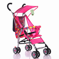 Foldable High Landscape baby doll stroller with rubber wheels