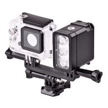 Professional LED Action Camera Video Light for GoPro's HERO 4/ Hero3+