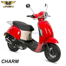 CHARM EIVISSA 50CC JNEN 2017 Newest Design Same as ZN Gas Petrol Gasoline Retro Model Motor Scooter Passed EEC