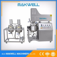 Strict QC Supplier Vacuum Emulsifying Liquid Soap Automatic Mixer Machine Manufacturer