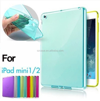 High Quality Clear Water Transparent Case Cover TPU Case For Ipad Mini 1 2 3 4