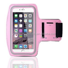 hot-saled neoprene and PVC/PU material sport phone pouch, arm band phone bag, running armband phone for I-phone 4/5/6 or Samsung