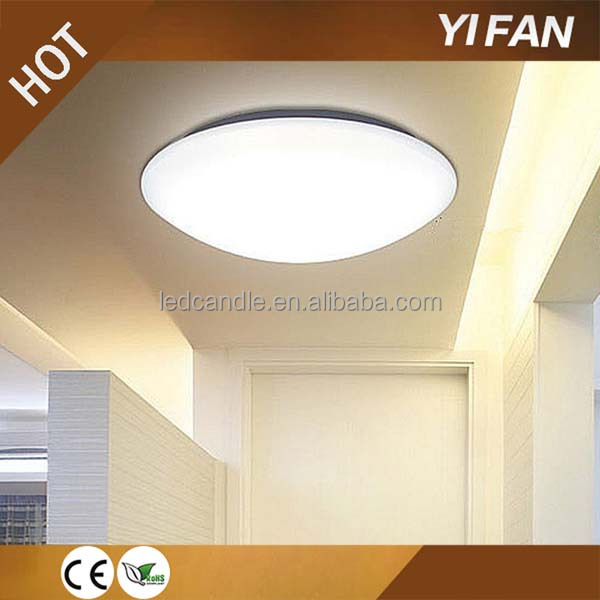 Emergency microwave motion sensor led ceiling lamp with rechargeable battery
