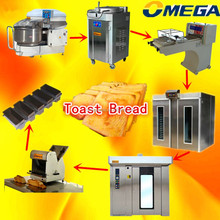 Bakery plant (Mixer, Divider, Moulder,Prover, Rotary Oven) (CE,ISO9001,factory lowest price)