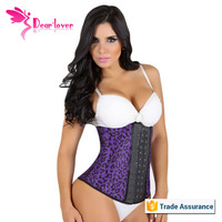 2015 Hot Cheap Zipper Latex Waist Training Corsets for Women