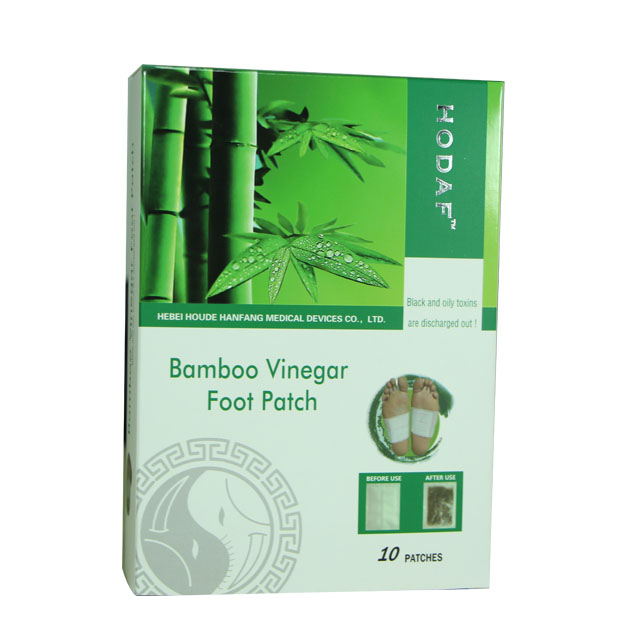 2017 new style super herb detox foot patch, foot plaster
