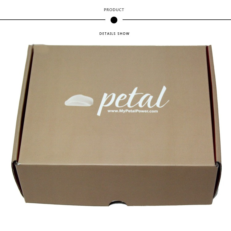Custom logo printed Small Corrugated packaging Shipping cardboard box manufacturers