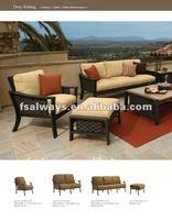 Leisure modern rattan or wicker furniture