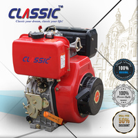 188FA Ignition Method 4 Stroke Diesel Engine, 12HP Power Generating Diesel Engine, 12HP Keyway Shaft Diesel Engine 188FA