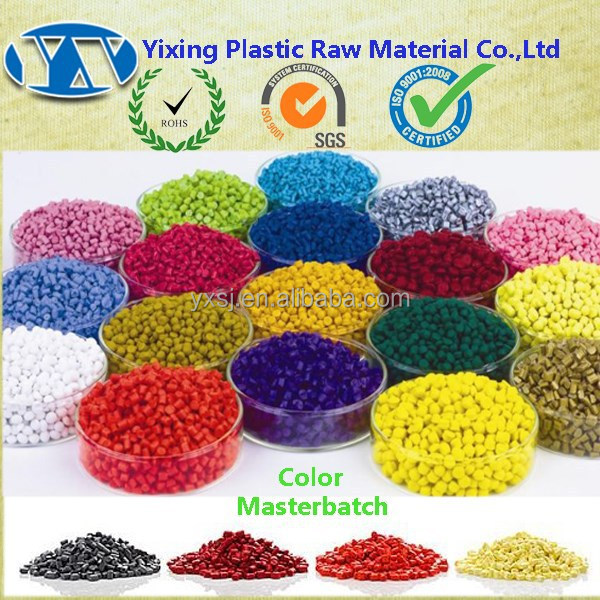 Virgin PP Plastic Base Color Pigment Concentrate masterbatch For Film Blowing / Injection / Extrusion