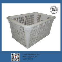China factory plastic widely use mesh turnover box;competitive price;fruit basket