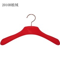 wholesale novelty coat clothes hanger printed logo
