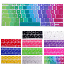 Soft Rubber Gel Rainbow Keyboard Cover For Macbook