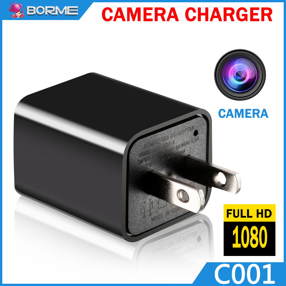 hd 1080p usb wall charger hidden camera spy hidden camera