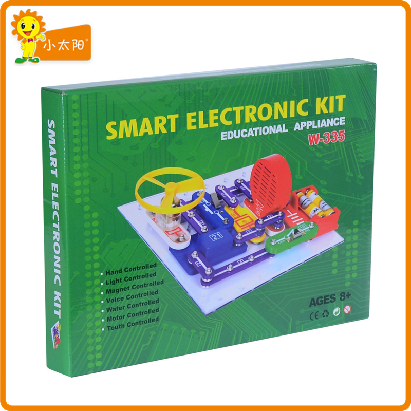W-335 Snap circuits kit electronic building blocks toys