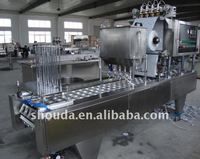 cup water filling and sealing machine