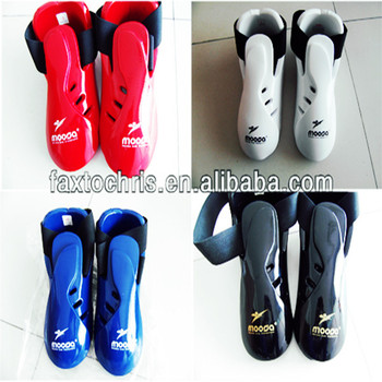 Dipped foam ITF Sparring foot guards,foot pads