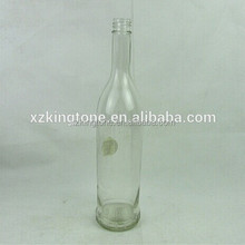 750ML Tall clear long neck 750ml wine glass bottle with cheaper price in ready stock