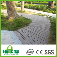 Manufacturer popular style wooden like wpc floor