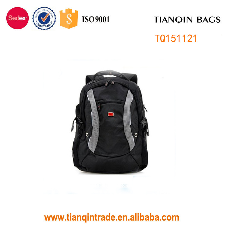 hot selling good quality 1680d polyester 15inch laptop backpack travel bag