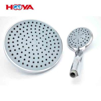 ABS Plastic 3 Functions Bathroom Accessories Top Shower Head Hand Shower Head Set