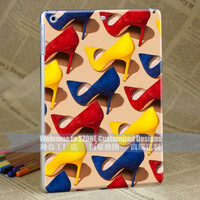 high heel-shoes cover for apple ipad air case