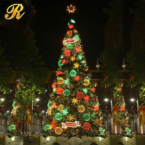 various diameter avaliable ball led christmas ball tree