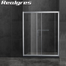 FA058 Cabin 80x80 Corner Room Round Guardian Shower Door Parts