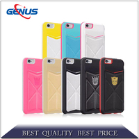 Rugged Combo 2 in 1 Armor TPU+PC Kickstand phone cases cover for Asus Zenfone 2 Laser ZE600KL