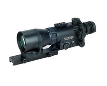 Hunting night vision rifle scope with 3x lens