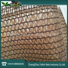 hdpe plastic 230gsm orange and yellow shade net with best quality low price
